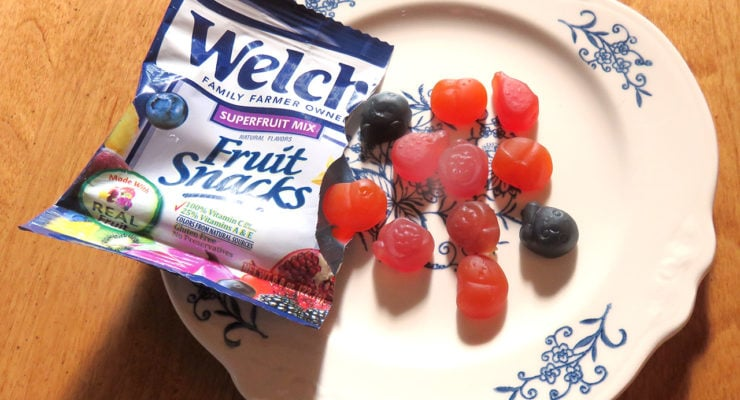 Introducing the New, Unique Flavors of Welch's Fruit Snacks Superfruit Mix