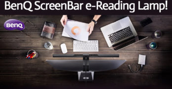 BenQ ScreenBar e-Reading Lamp Giveaway