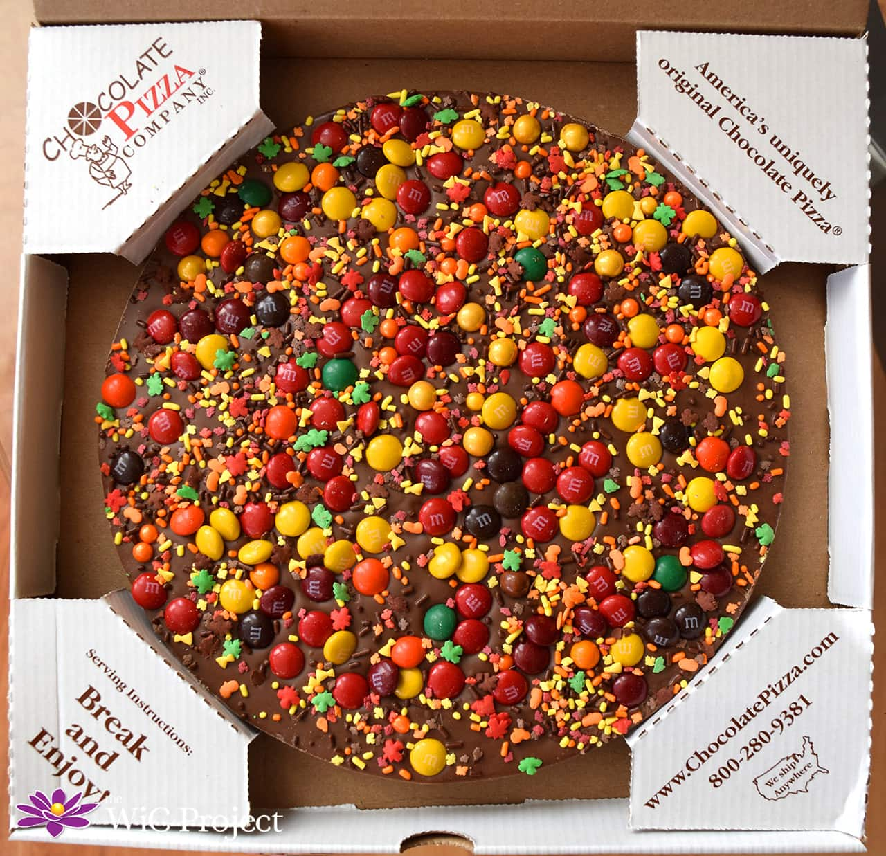 Love Chocolate? Get Chocolate Pizza Delivered with Chocolate Pizza Company