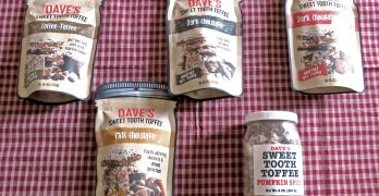 Dave's Sweet Tooth Toffee is Delicious, Handmade Toffee