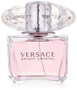 Three Fragrances to Add Ambience to Your Bedroom - Versace Bright Crystal