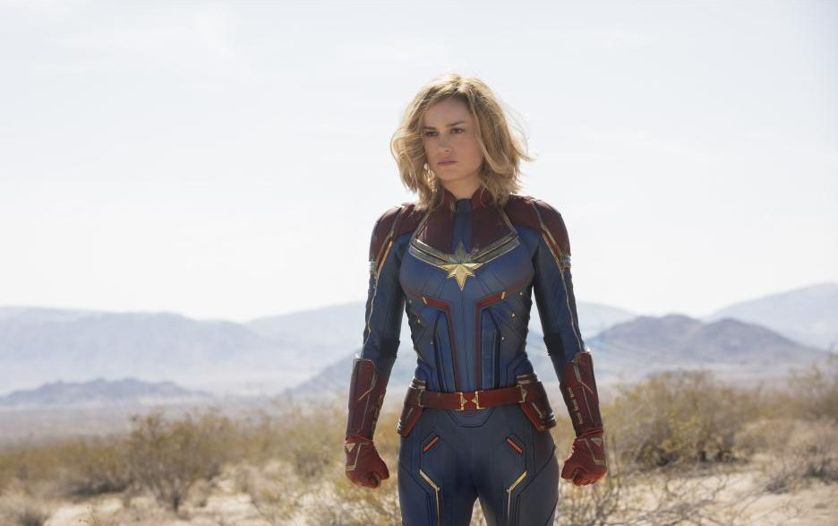Captain Marvel in Uniform