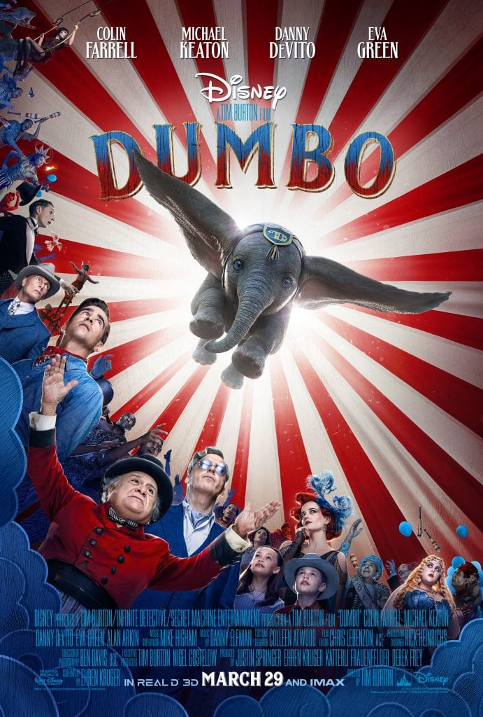 Disney's Dumbo Live Action Movie Poster - Movie Review