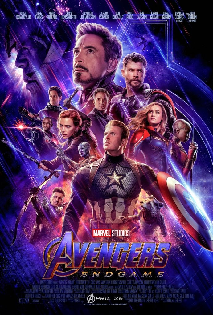 Marvel Studios' Avengers: Endgame Movie Poster - Movie Review