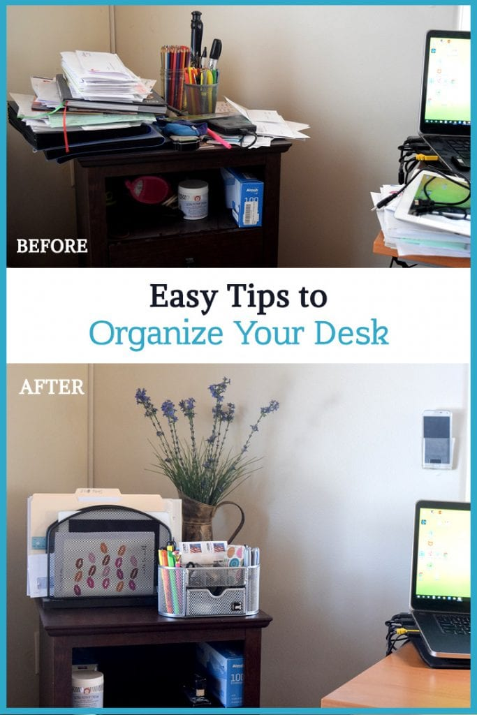Easy Tips to Organize Your Desk