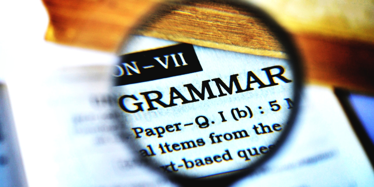 Book Review Writing Tips - Fix Grammatical Errors