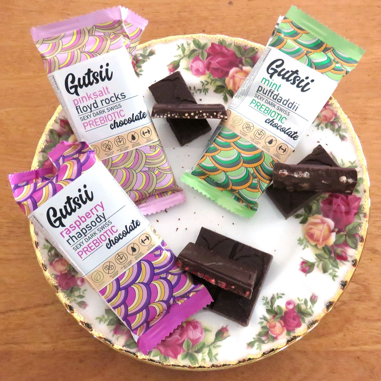 Gutsii Chocolate with Prebiotics Review: Vegan, Keto-Friendly, Low Carb Swiss Dark Chocolate