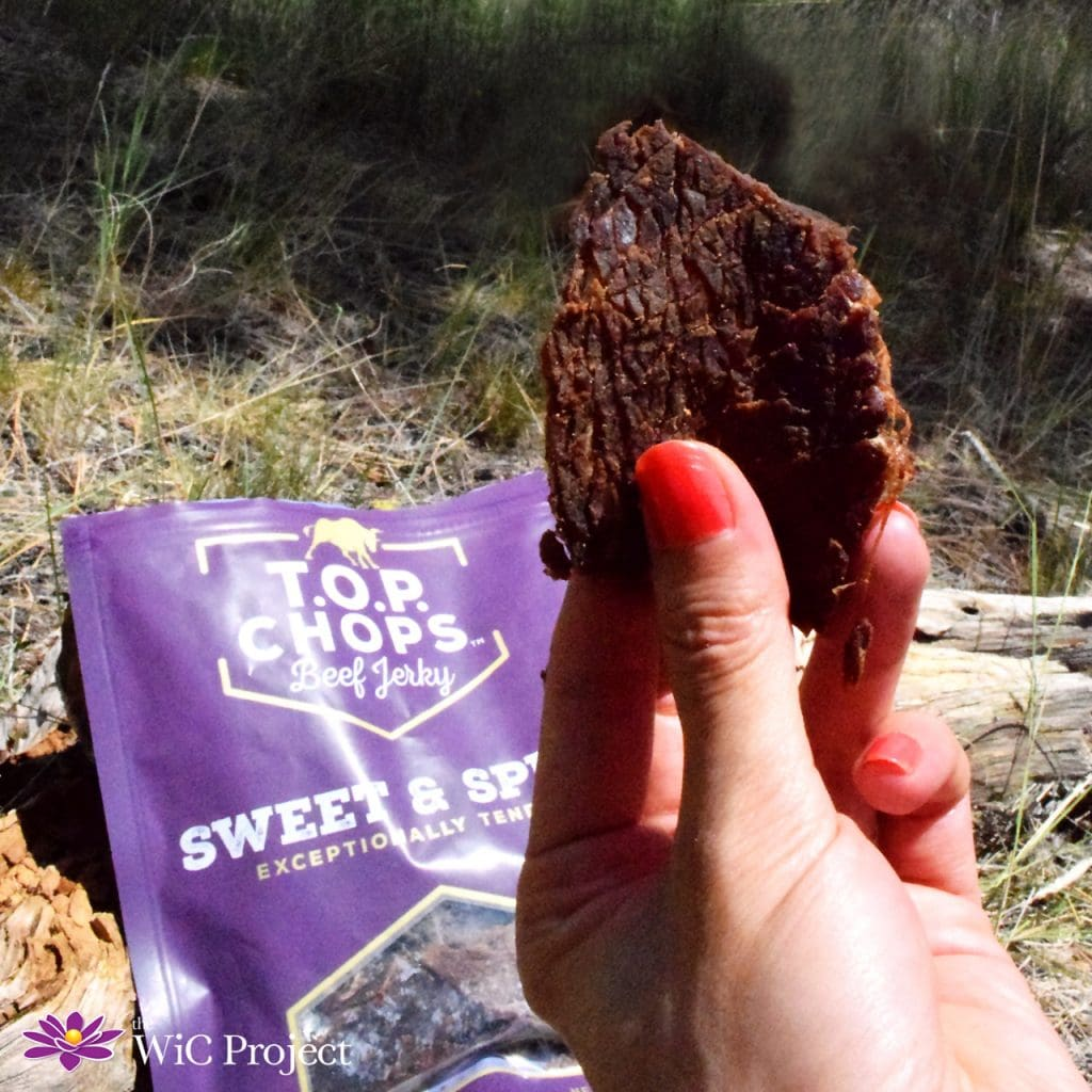 T.O.P. Chops Beef Jerky - Sweet & Spicy