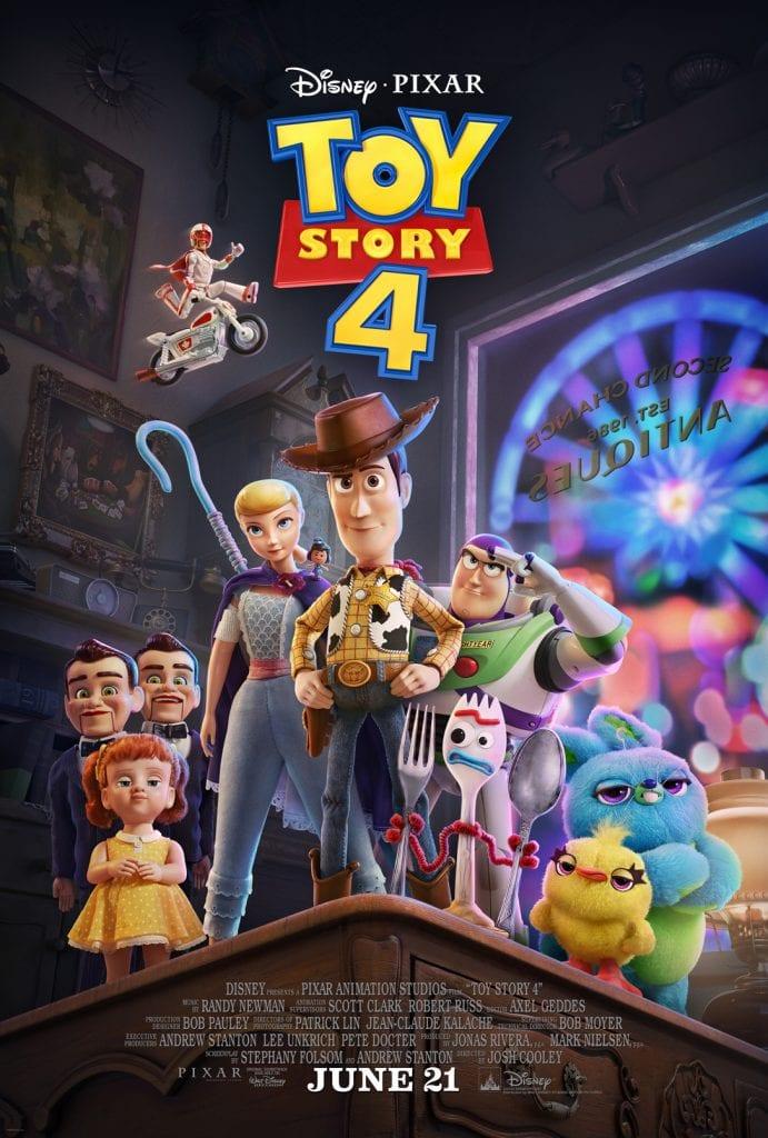 Disney's Toy Story 4 Movie Poster