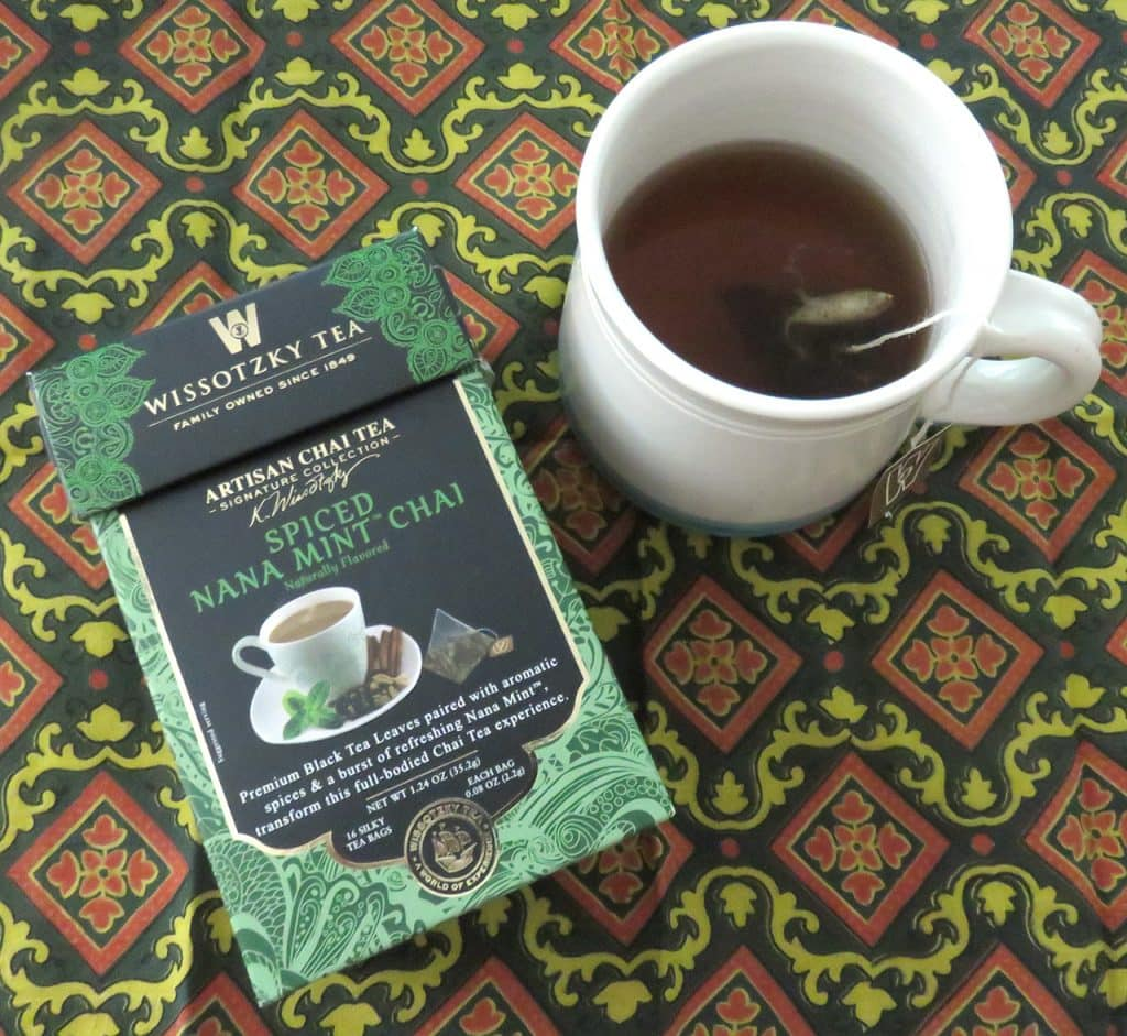 Wissotzky Tea - Spiced Nana Mint Chai Tea