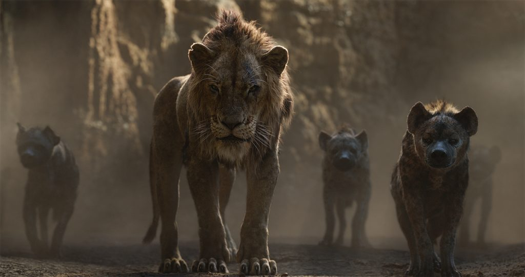 THE LION KING - Scar and Hyenas
