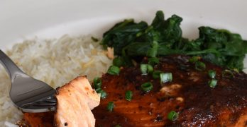 Orange & Ginger, Asian Grilled Salmon