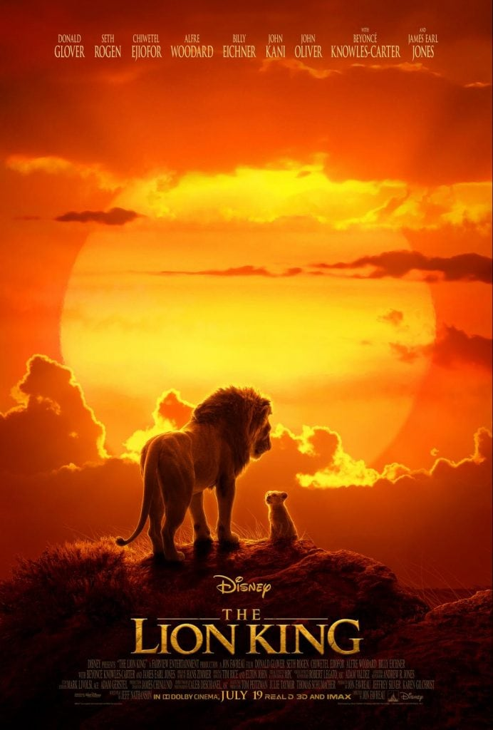 Disney's The Lion King Movie Poster