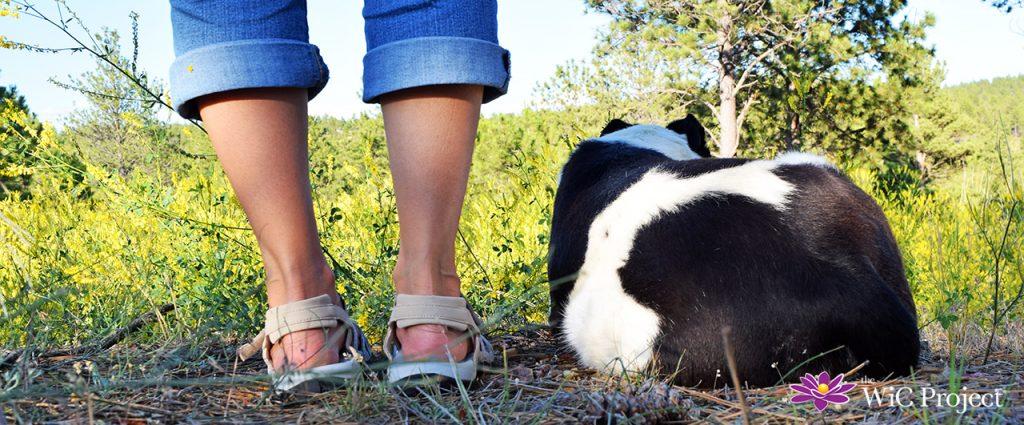 Heel of Viakix Samara Walking Sandal