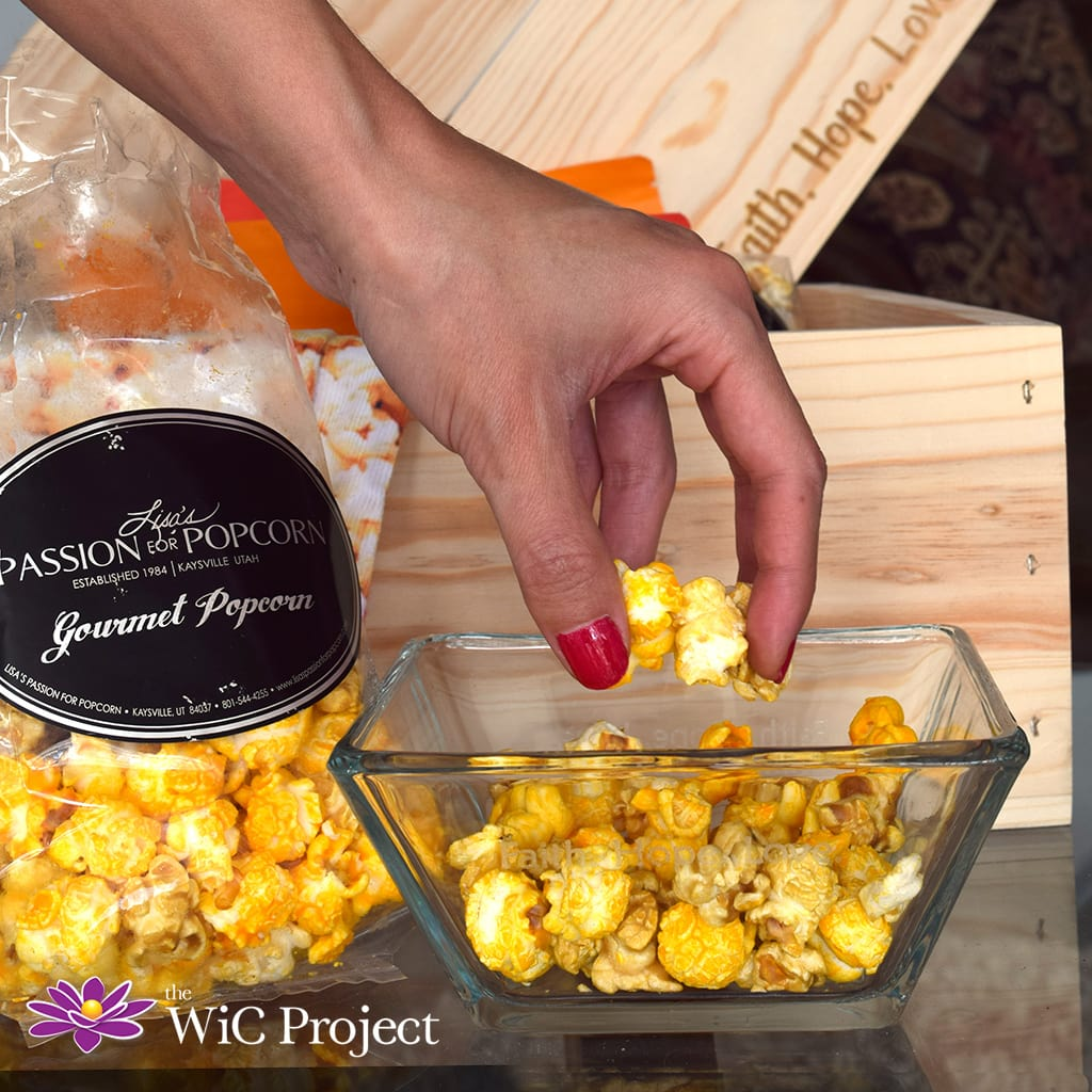 Brilliant Gifts Popcorn Snacks & Custom Bowl