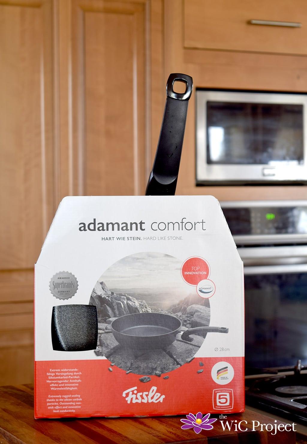 Fissler Adamant Fry Pan in Kitchen