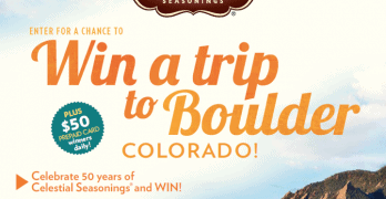 Celebrate 50 Years of Celestial Seasonings® and WIN