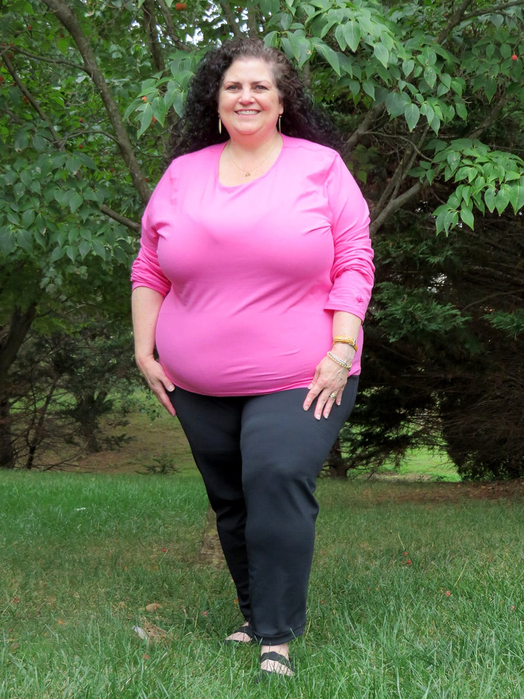 Sun-Safe Fashions from Coolibar - Pink Top