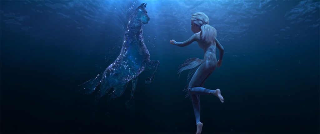 Frozen 2 Nokk and Elsa: Water spirit horse