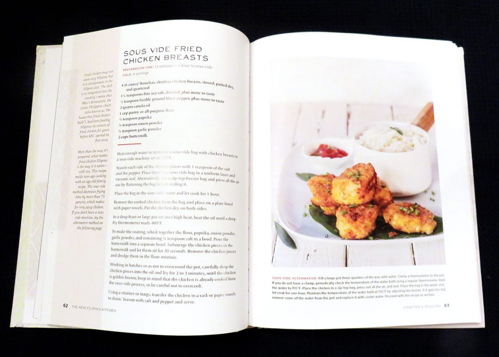 The New Filipino Kitchen Cookbook - Fried Chicken Recipe