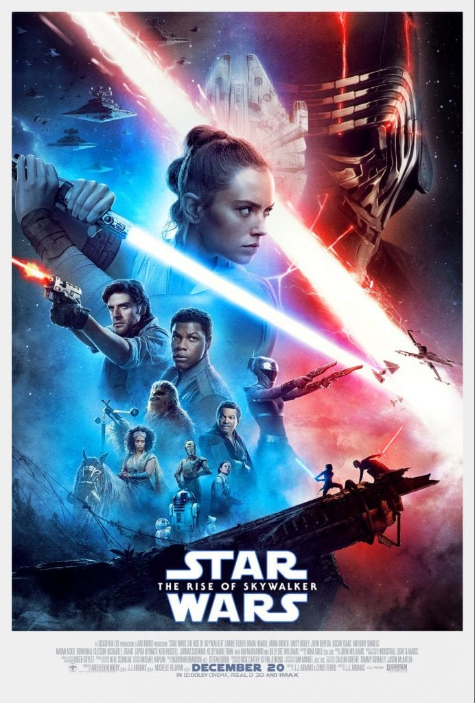Disney's Star Wars: The Rise of Skywalker Movie Poster