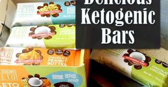 Delicious Ketogenic Bars from Kiss My Keto