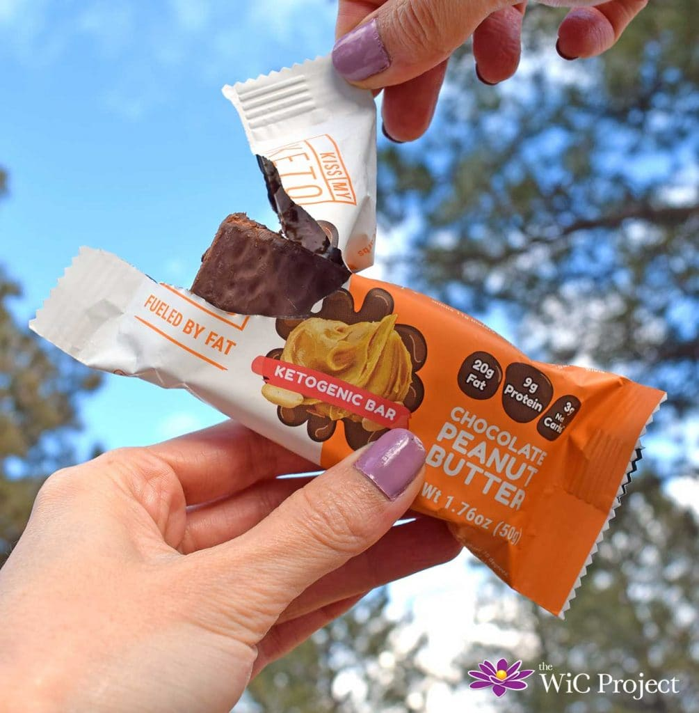 Kiss My Keto Peanut Butter Keto Bar