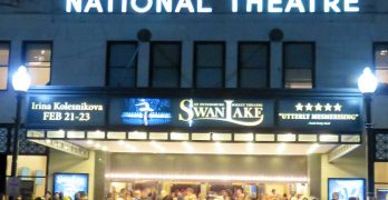 Swan Lake, Front of National Theatre, Washington DC