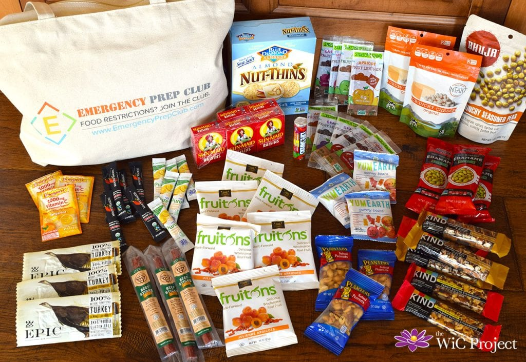 Prepared for Emergencies with Allergen-Free Foods from Emergency Prep Club: 3-Day Gluten-Free Food Kit