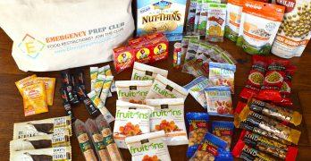 Emergency Prep Club 3-Day Gluten-Free Food Kit