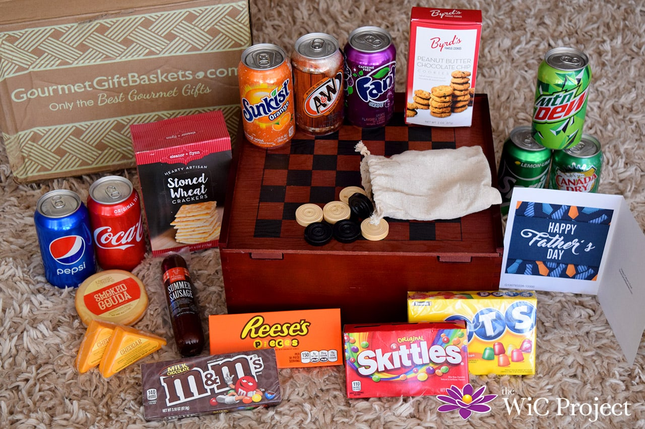 What's in the Father's Day Soda & Candy Game Crate